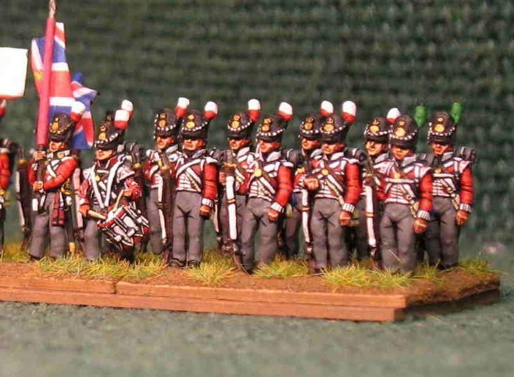 British line infantry 1815