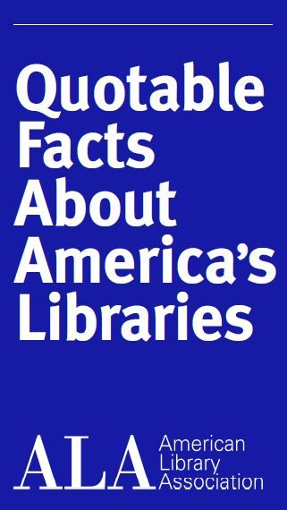 Quotable Facts about Americas Libraries - Offices of the American Library Association http://ift.tt/YZZHDV