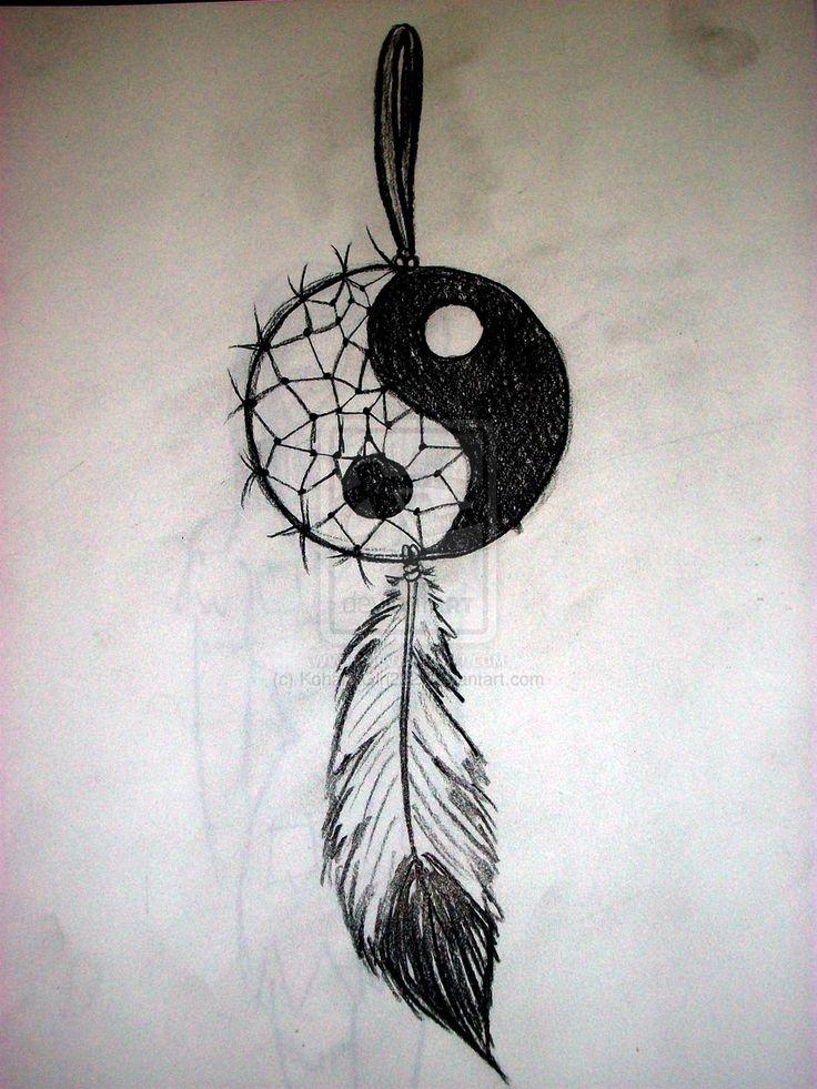 Yin Yang Dream Catcher by KohanaGirl222.deviantart.com on @deviantART