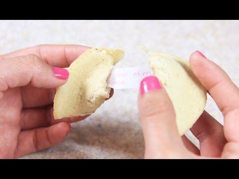 Galletas de la suerte - receta de galletas de la fortuna
