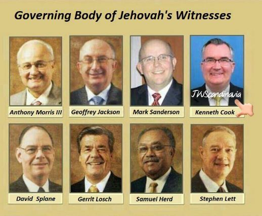 JW ORG | GOVERNING BODY | January 24, 2018 Kenneth Cook Appointed to