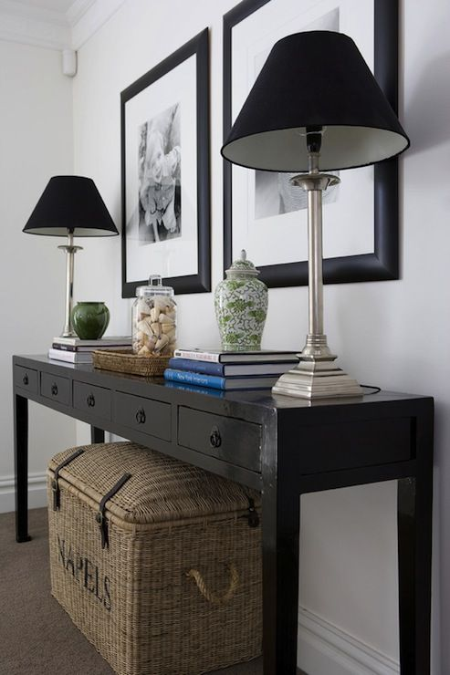Foyer Table Lamps : Best ideas about entrance foyer on pinterest