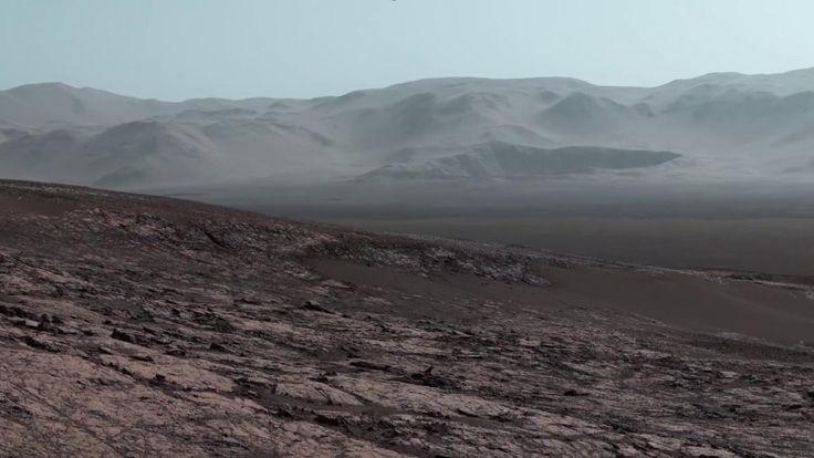 Basandosi sulle ultime fotografie scattate il 25 ottobre 2017 dalla sonda Curiosity, la Nasa ha prodotto un video inedito che ci fa vedere Marte...