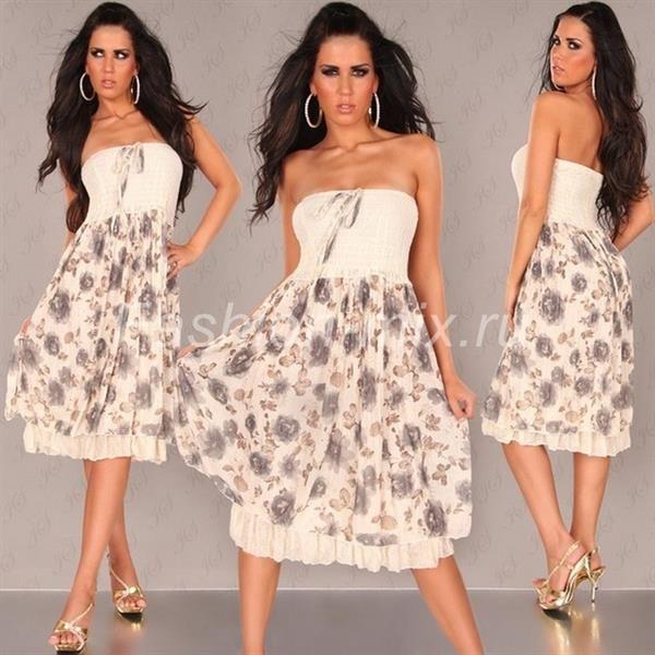 Купить красивое вечернее платье короткое