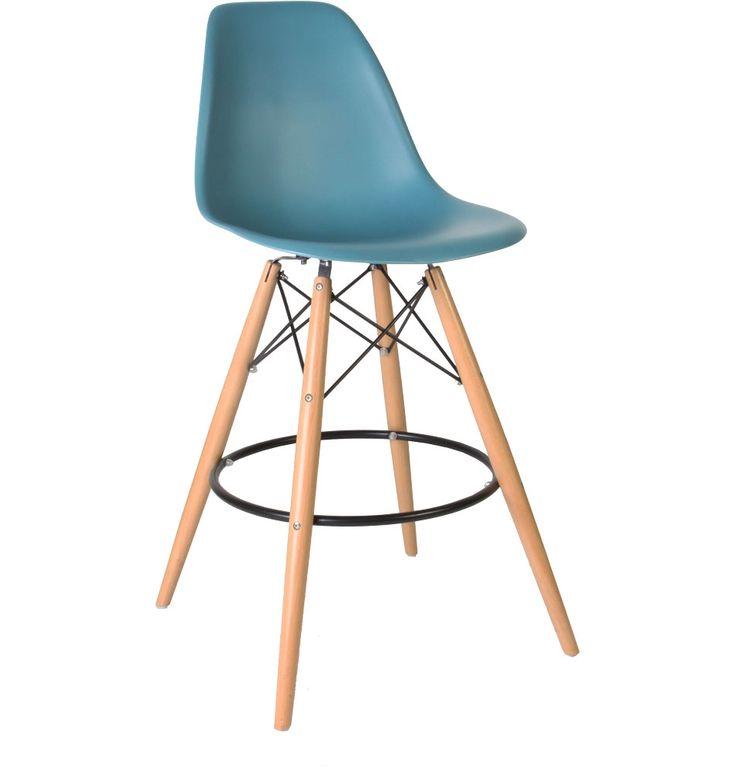 The Matt Blatt Replica Eames DSW Stool by Charles and Ray Eames - Matt Blatt