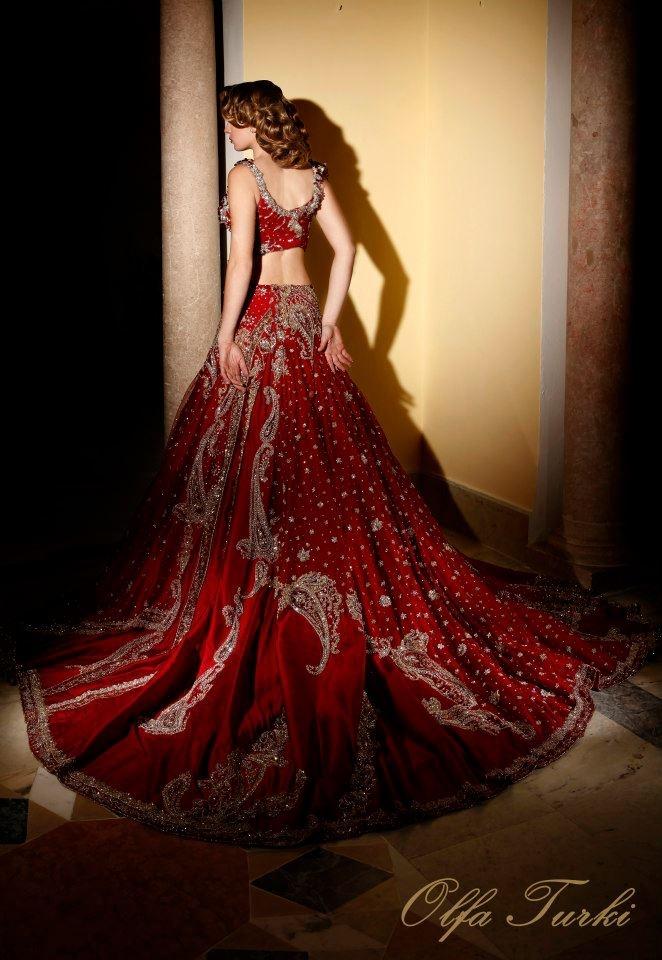 Tunisian Wedding/Henna Dress by Olfa Turki