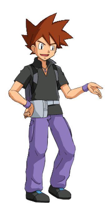 Pokemon Trainer Gary Oak Images | Pokemon Images