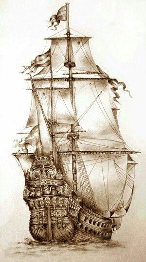 beautiful ship image