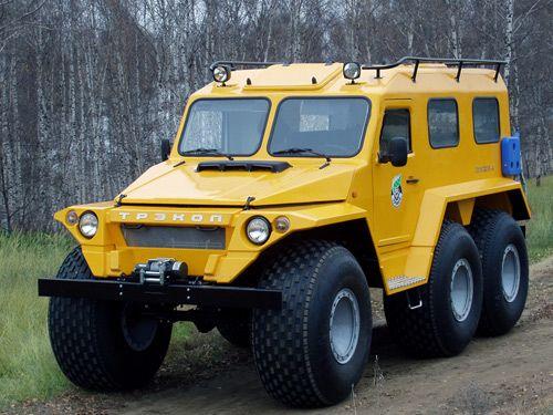 Russian TREKOL 6x6