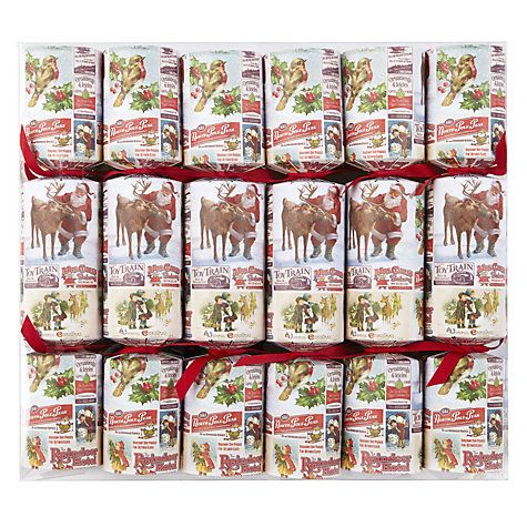 199 best christmas crackers images on pinterest christmas cookies buy john lewis vintage adverts cube crackers set of 12 online at johnlewis solutioingenieria