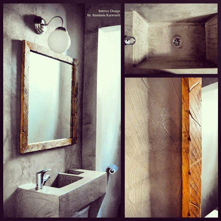 #Cementbathroom #industrialdesign #industrialbathroom #minimaldesign #minimalbathroom