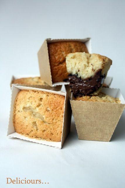 Deliciours...: Les financiers au Nutella de Cyril Lignac