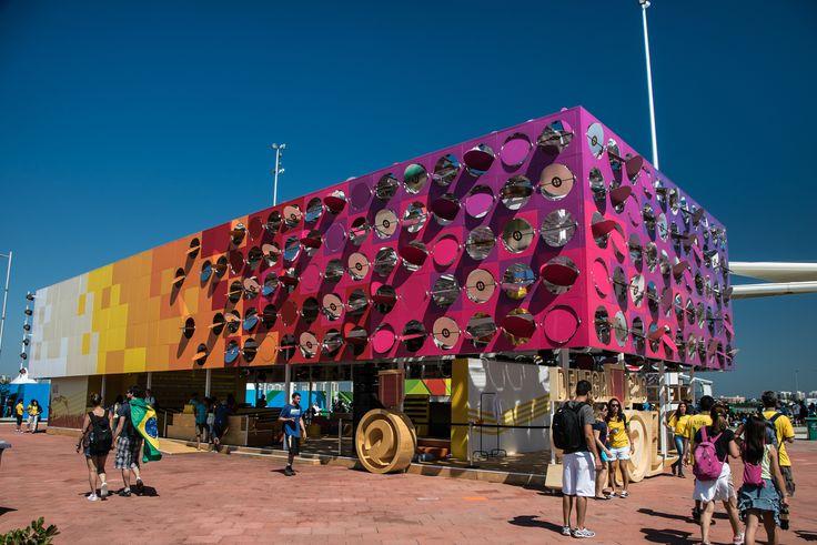 Galeria de Olimpíadas Rio 2016: O Pavilhão Dançante / Estúdio Guto Requena - 9