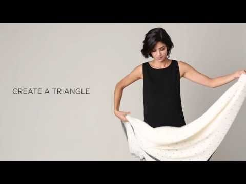 New and Improved How To Tie a Scarf Video-Just in time for Spring! | The Swag Society