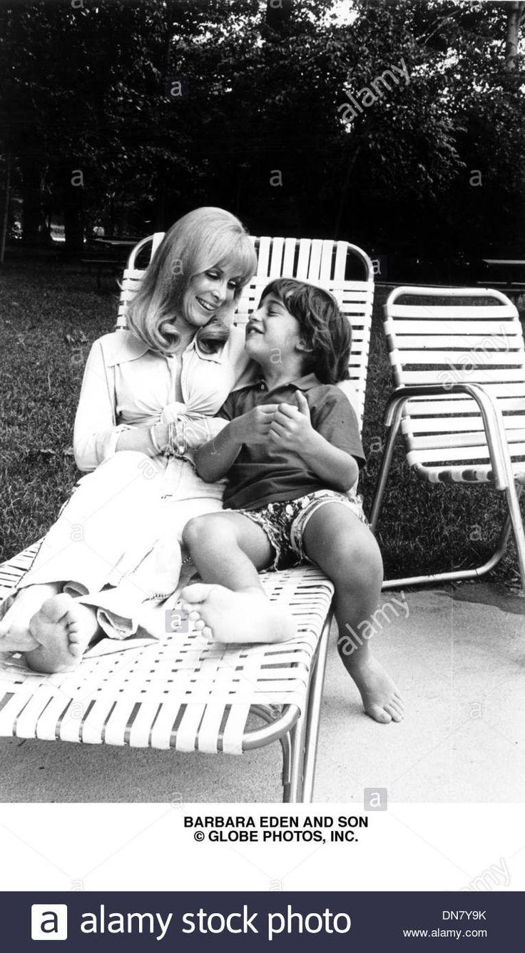 June 27, 2001 - Barbara Eden And Son Matthew Ansara.(credit Image: © Globe Stock Photo, Royalty Free Image: 64713983 - Alamy