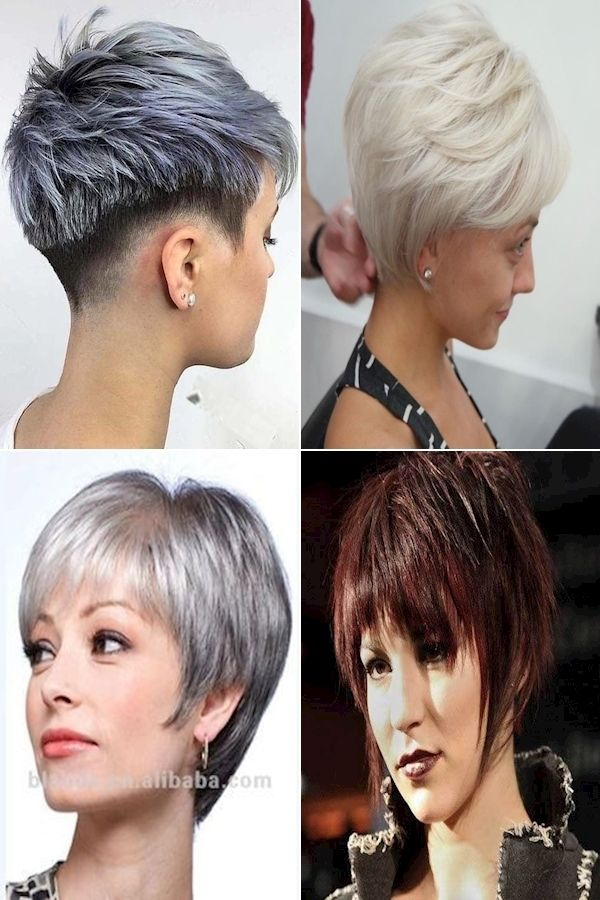 Hairstyle Photo Short Pixie Haircuts For Curly Hair Pixie Haircut Long On Top Haircuts For Curly Hair Hair Styles Short Hair Styles