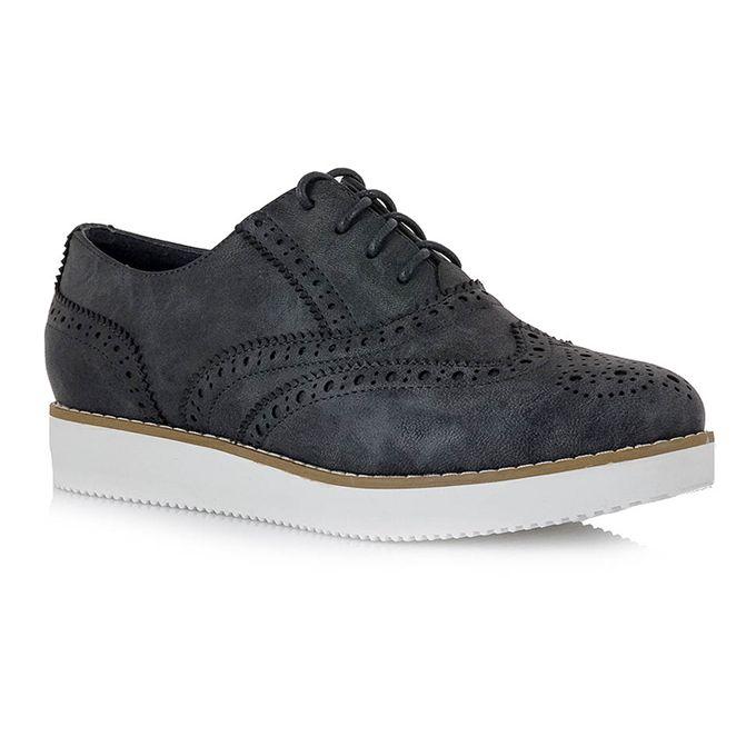 EXE γυναικεία παπούτσια τύπου oxfords σε μπλε, nude, ή ροζ χρυσό €49,00