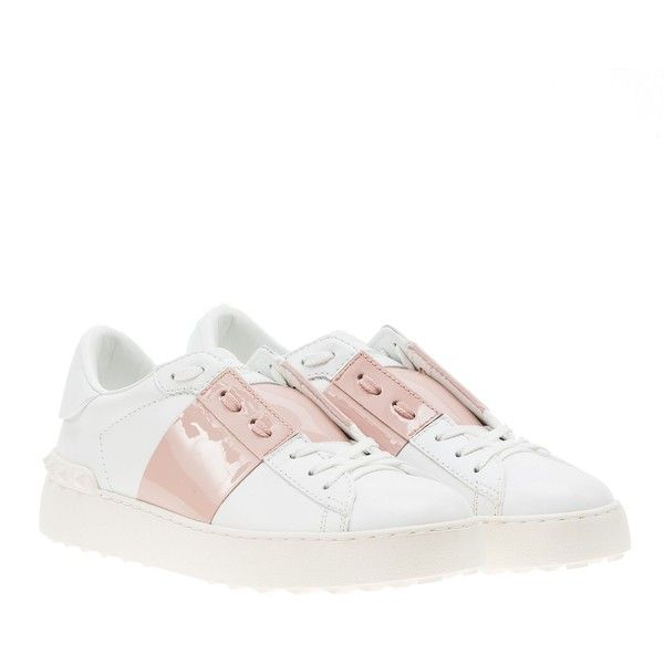 Valentino Open Sneaker (€381) ❤ liked on Polyvore featuring shoes, sneakers, valentino sneakers, valentino shoes and valentino trainers