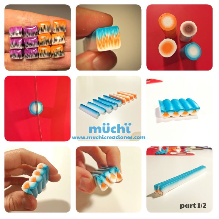 71.1 Polymer clay tutorial fimo