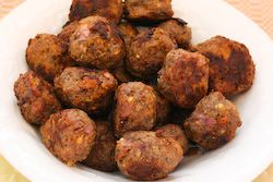 Greek Meatballs with Feta (Low-Carb, Gluten-Free) | Greek Meatballs ...