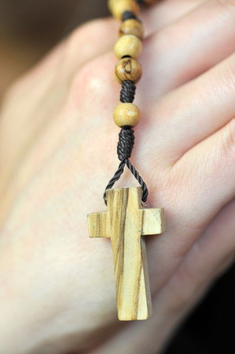 A collection of pictures of praying hands with rosary beads.  Great for Clip-art or tattoo ideas.