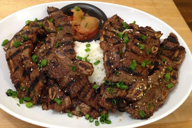 Korean Style Beef Short Ribs Recipe | BBQ recipes | Pinterest