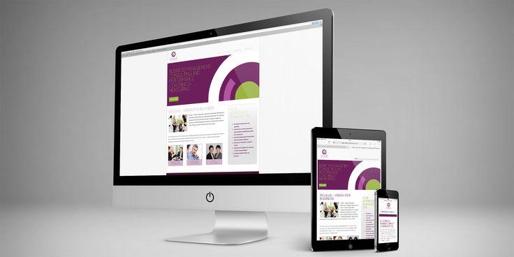 Oculus Website Design - © Copyright 2014 Ignite Design