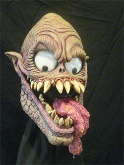 legends of heroes villains horror coming halloween 2014 google eye guy latex mask - Creepy Masks For Halloween