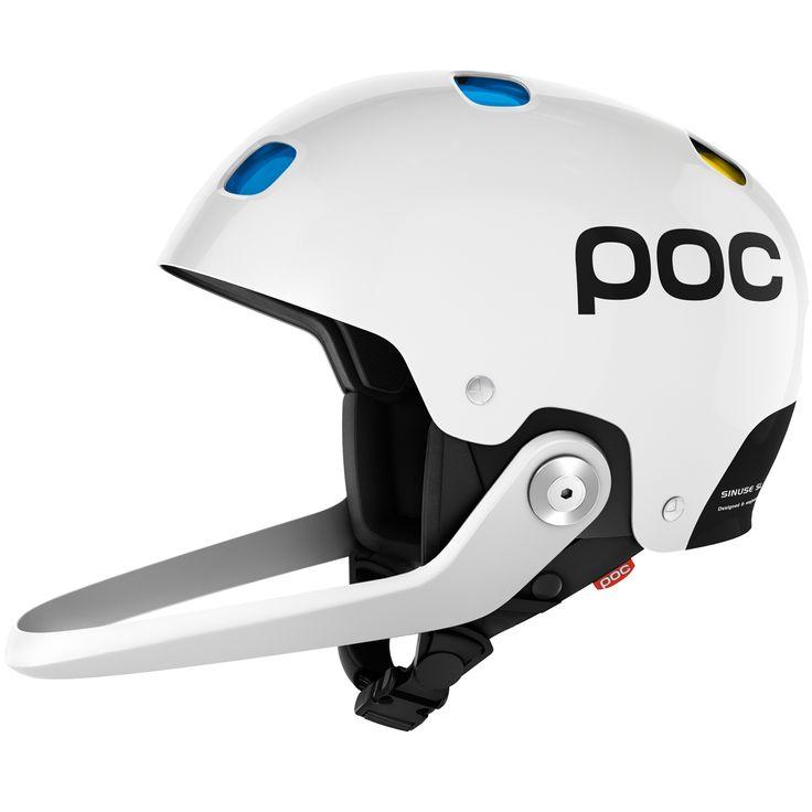 """Dieser Slalom Helm ist mit POC`s patentiertem Doppel-Schalen-System, die vollständige Belüftung und Schutz vor eindringenden Gegenständen bietet. Die Lüftung kann durch ein """"EVA-Pad"""" geschlossen werden. Der mitgelieferte Kinnschutz,..."""
