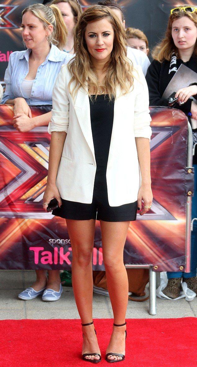 Super cute outfit! - Caroline Flack