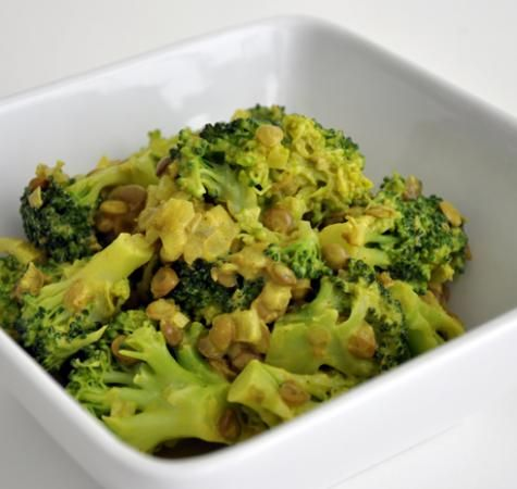 linzen broccoli curry - vegetarisch (lentils, broccoli, curry - vegetarian)