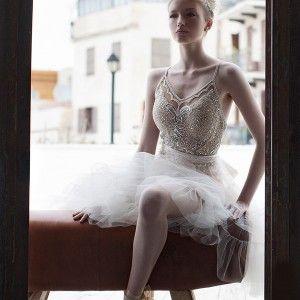 persy spring 2016 bridal sleeveless ballerina wedding dress tulle skirt exquisitely embellished bodice