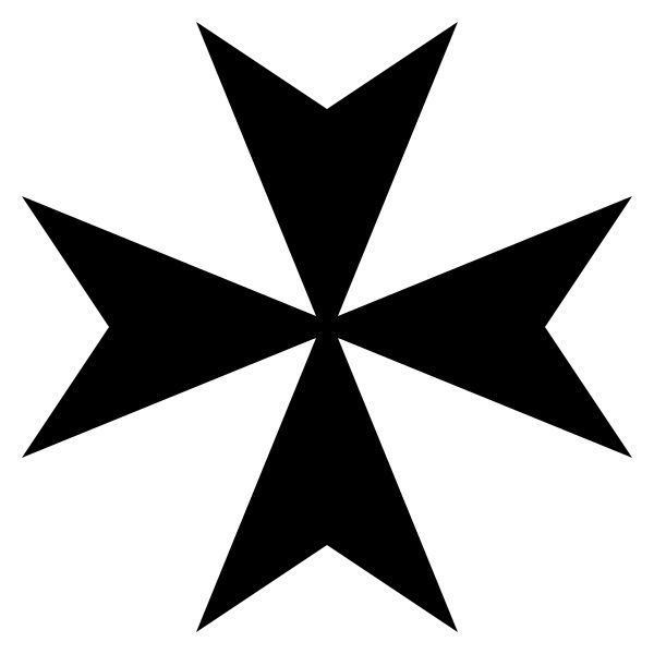 Maltese-Cross-Heraldry - Croix de Malte (symbole) —