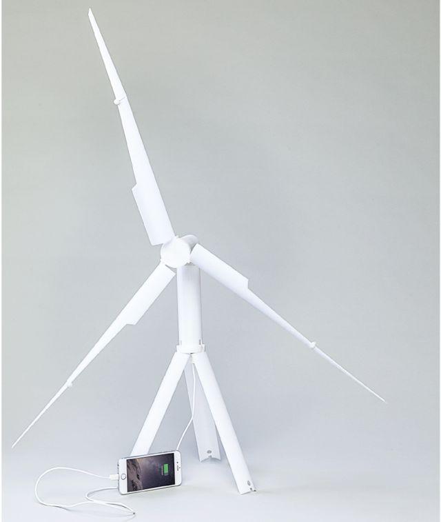 Trinity, turbina eoliană portabilă