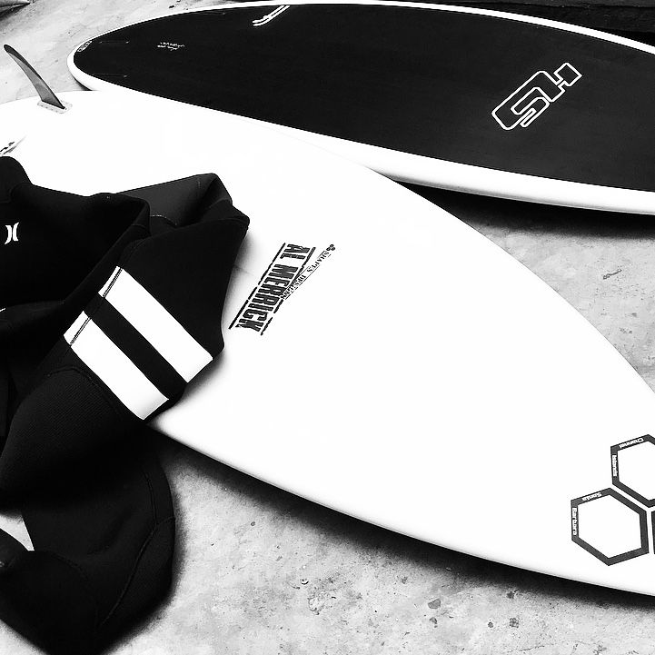 Haydenshapes surfboards and Channel Islands surfboards in store at KISS, CapeTown. 021 4222618