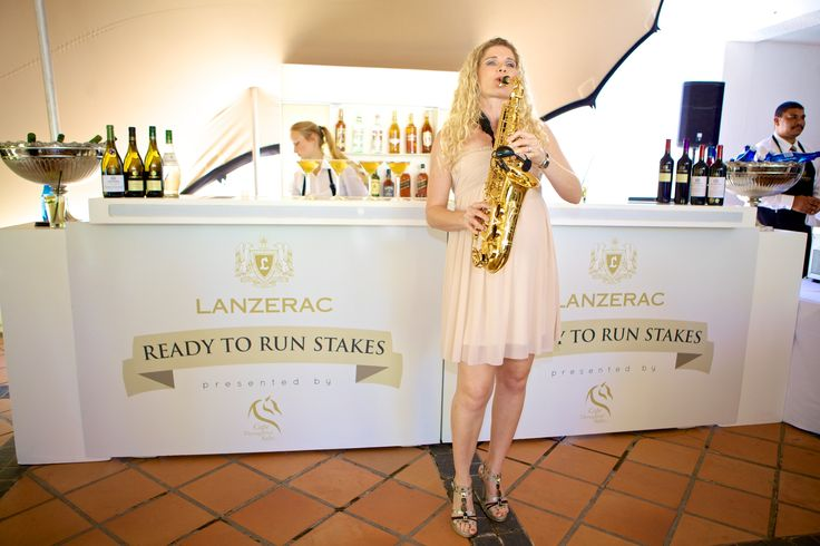 The talented Judy Brown entertaining our guests at the Lanzerac Ready to Run launch event