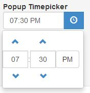Popup Timepicker Using AngularJS and Bootstrap | My Tech Tip