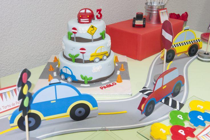 cars party / fiesta de coches.. Muy divertida esta fiesta temática : coches!!!