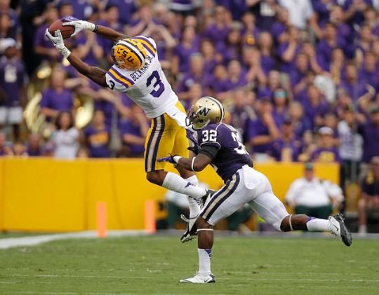 Giants pick up WR Odell Beckham Jr. (LSU) in 2014 Draft. Giants better make the playoffs!