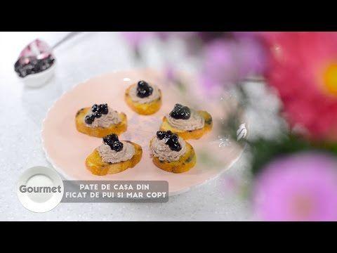 Reteta culinara Pate de casa, din ficat de pui si mar copt -  video | Culinar