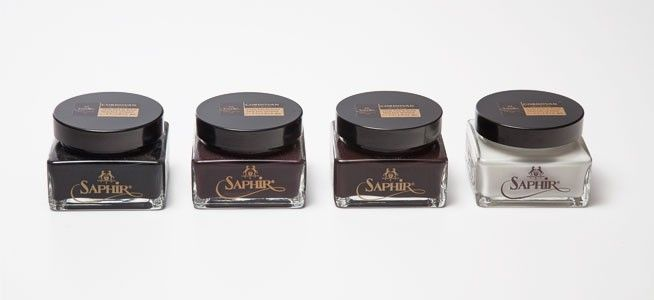 Shoe Care - Shell Cordovan Polish | Saphir Cordovan Shoe Polish Medaille d'Or - Kremy do skór Cordovan