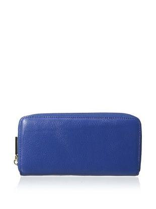 66% OFF Zenith Women's Zip-Around Wallet, Cobalt