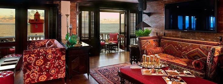 The Lighthouse Bar at The Oyster Box in Durban