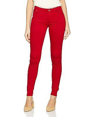 14, Red, Springfield Women's 5.t.Gym. Jegging Color Shapewear Leggings