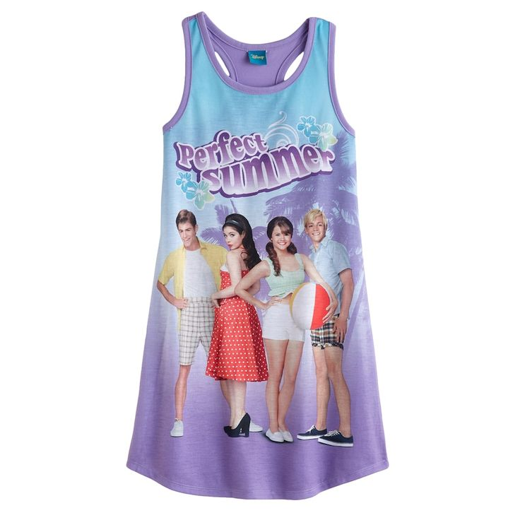 Disney Teen Beach Movie Racerback Nightgown - Girls, Purple