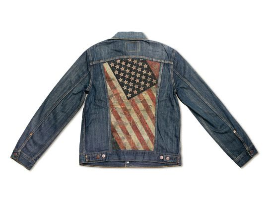 Levi's Trucker jacket customized by Shepard Fairey. | Denim Your Way | Pinterest | Jean jean, Fasion and Summer