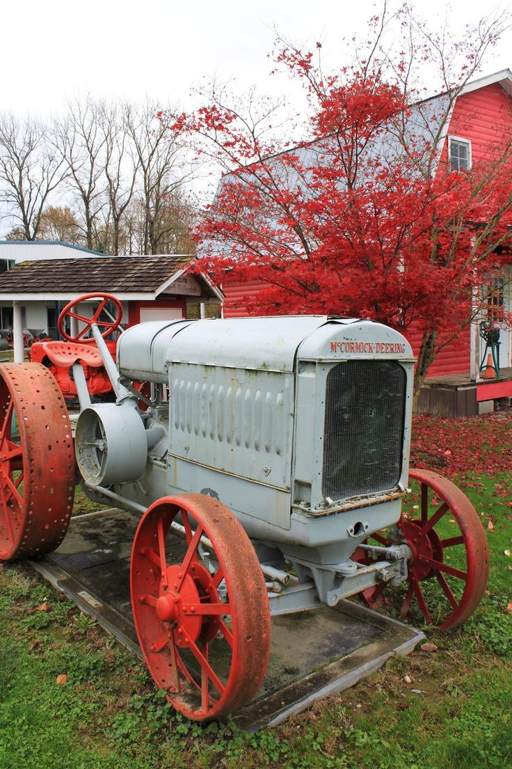 Chilliwack Antique Powerland Pioneer Village - photo by Mimmi P #museum #farmvehicles