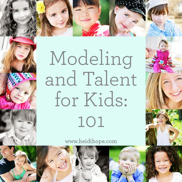 Everything you need to know about getting your kids into modeling or acting! Includes the agencies to stay away from, and how agencies get auditions and jobs. #heidihopephotography