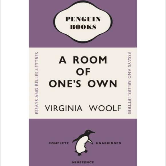 Buy Penguin Book Cover Prints Framed Art Prints Penguin Shop Penguin Books Covers Room Of One S Own Penguin Books