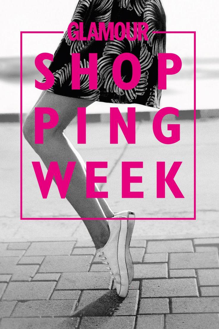 Vom 02. bis 09. April 2016 ist wieder Glamour Shopping Week - und Geliebtes Zuhause ist mit von der Partie!